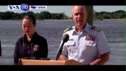 Tạm ngừng tìm kiếm 33 thuyền viên tàu El Faro mất tích (VOA60)