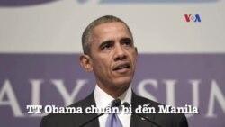 Tổng thống Obama chuẩn bị đến Manila