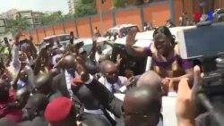 Simone Gbagbo libérée en Côte d'Ivoire (vidéo)