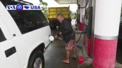 VOA60 America - Hawaiians prepare for category Hurricane Lane
