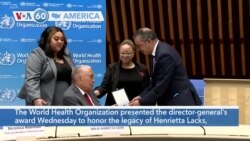 VOA60 Ameerikaa - WHO Honors Henrietta Lacks, Woman Whose Cells Served Science