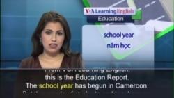 Anh ngữ đặc biệt: Cameroon Schools (VOA)