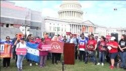 Beneficiarios de TPS y DACA piden acción del congreso