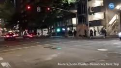 Portland'da Karşıt Gruplar Çatıştı Bir Kişi Öldü