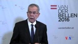 2016-12-05 美國之音視頻新聞: 奧地利總統大選極右派候選人被擊敗