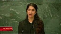 Giải nhân quyền Sakharov cho 2 phụ nữ Yazidi từng bị IS bắt cóc