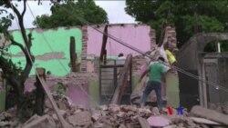 2017-09-11 美國之音視頻新聞: 墨西哥地震死亡人數升至90人 (粵語)
