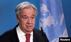 BM Genel Sekreteri Antonio Guterres.