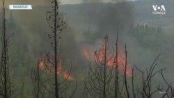 Manavgat'ta Yangın Söndürme Çalışmaları Devam Ediyor