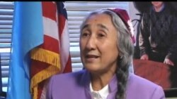 Jahon Uyg'urlari yetakchisi Robiya Qodir bilan suhbat/Rebiya Kadeer, Uyghur leader talks to VOA Uzbek