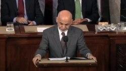 سخنرانی اشرف غنی در کنگره آمریکا