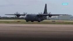 Армия США прибывает на границу с Мексикой