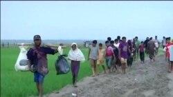 从缅甸越境逃出的罗兴亚人(1)