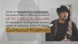 Rewards for Justice: Gulmurod Khalimov