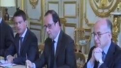 法國總統奧朗德譴責教堂襲擊事件