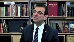 İmamoğlu VOA Türkçe'ye Konuştu: 'Korku Duvarlarını Yıkmak Zorundayız'