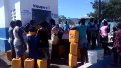 Haitians Fill Up on Fresh Water at New Kiosk