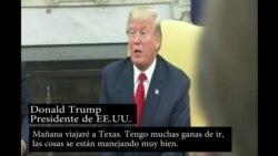 Trump anuncia su visita a Texas
