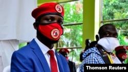 Mwanasiasa wa upinzani nchini Uganda, Bobi Wine.