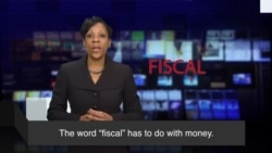 News Words: Fiscal
