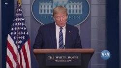 Президент Трамп прояснив деталі указу про тимчасову призупинку імміграції до США. Відео