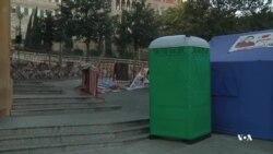 بستگان گروگانهای لبنانی بست نشستهاند