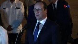 Tổng thống Pháp đến Cuba trong chuyến công du lịch sử