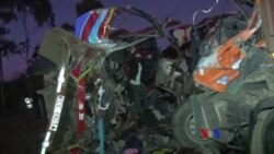 2017-12-31 美國之音視頻新聞: 肯尼亞大巴士事故30人死亡