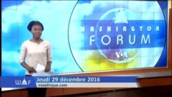 Washington Forum du 29 decembre 2017