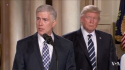 Trump Court Pick Gorsuch Begins Confirmation Hearings Monday