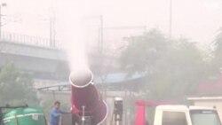 Yon nouvo zam kont Polisyon yo rele 'Anti-smog gun'