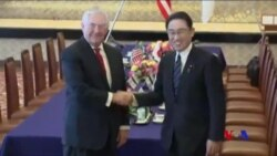 蒂勒森:須以不同策略解決北韓核問題 (粵語)