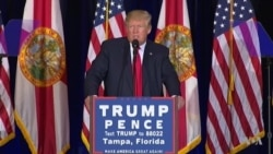 Donald Trump Campaigns in Florida