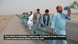 Helmand Residents Begin 400-mile Walk to Kabul