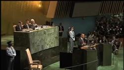 2012-09-26 美國之音視頻新聞: 美國總統聯大演說批評極端主義