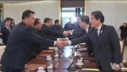 南北韩同意举行军事谈判缓解紧张关系
