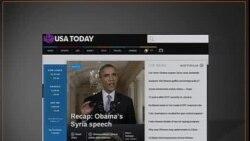 美国五大报头条新闻(2013年9月11日)