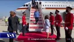 Kancelarja gjermane, Merkel, takon kryeministrat e Ballkanit Perëndimor gjatë një vizite në Shqipëri