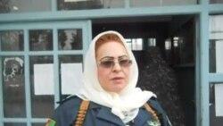 Afghan women police