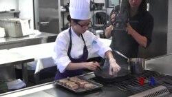 青年厨师竞技 欲在国际崭露头角