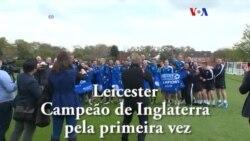 Leicester surpreende tudo e todos