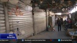 Tiranë: Protesta e tregtarëve të vegjël