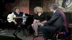 Говард Алден и Джин Гис в вашингтонском клубе «Аллея блюза»