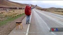 """У США зараз відбуваються покази стрічки українських документалістів """"Людина з табуретом"""". Відео"""