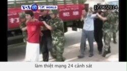 TQ tử hình 13 người liên quan đến cuộc tấn công ở Tân Cương