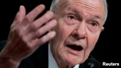 FILE - Former U.S. National Security Advisor Brent Scowcroft.