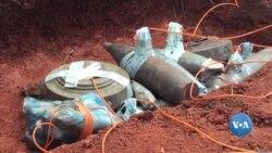 Malanje continua a lidar com o problema dos engenhos explosivos