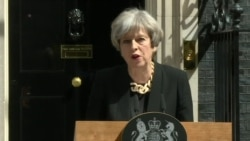 Britain PM May: 'Enough is Enough'