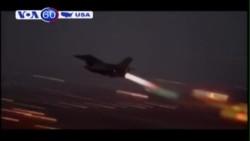 Mỹ điều máy bay có người lái F-16 không kích IS (VOA60)