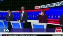 Présidentielle 2020 : débat démocrate en Ohio
